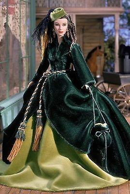 2001 Timeless Treasures Collectible Doll - Scarlett OHara - On Peachtree Stre...