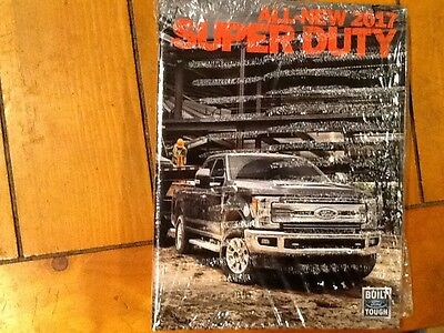 2017 Ford Super Duty brochure new