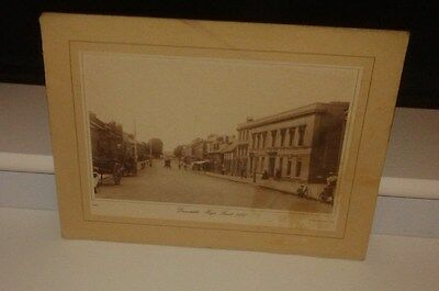 Victorian Photo Print - Dunstable High Street 1897 (Mounted)