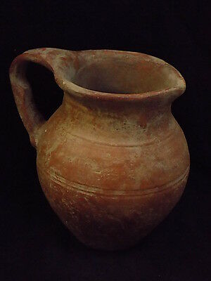Ancient Huge Size Teracotta Wine Jug early Bronze Age 3000 BC #S8522