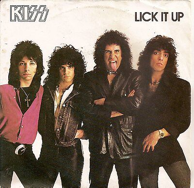 rare dutch KISS lick it up /not for the innocent