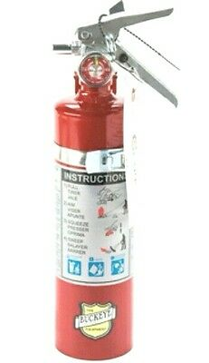 Buckeye 2.5 lb ABC Dry Chemical Portable Fire Extinguisher 13315