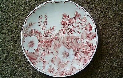 Hand Painted Wall Plaque by S Marshall on Bareuther Plate