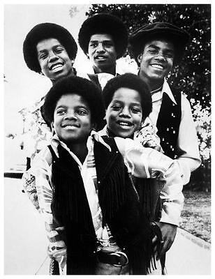 the Jackson 5  **LARGE POSTER** Amazing Image of all Five - MOTOWN Era w/Michael