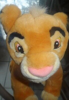 Simba Plush Lion King Disney Store Exclusive Young Cub Soft Stuffed