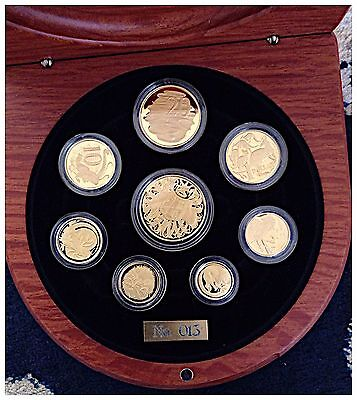 Extremely Rare 2006 Eight Coin Gold Set Royal Australian Mint Investment