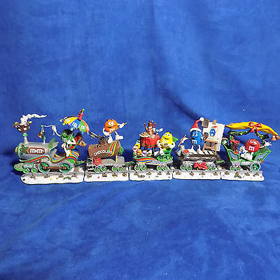Danbury Mint M & M Christmas Express Collection Holiday Express Train Coa - Euc