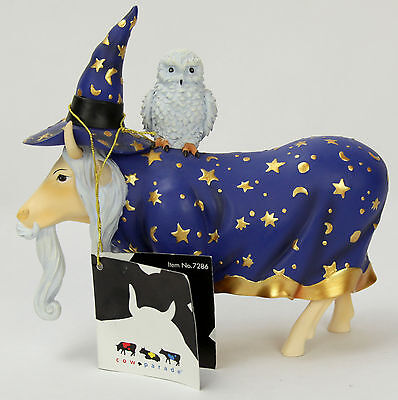 2003 Cow Parade - Moolin The Wizard- Westland - Brand NEW!! With Tags