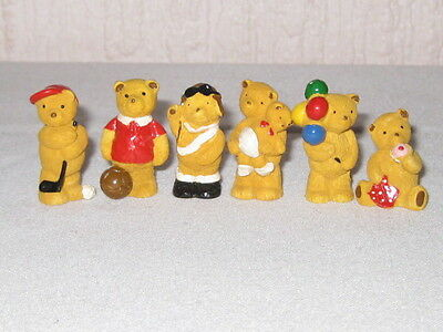 Miniature Teddys Ornaments