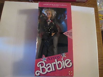 1989 Barbie Army Limited Edition American Beauties Collection Nib