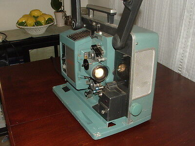 Vintage Bell & Howell 540 Filmosound 1960's 16mm Film Projector Works Great!