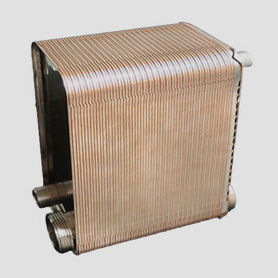 36 / 60 plates Stainless Steel  Brazed Plate Heat Exchanger small size