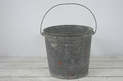 Advertising Bucket Galvanized Bucket Magnet Soap Powder Swift & Company 25# Pail