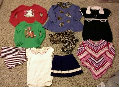 Toddler Girl Lot of Outfits, Dress, Tops  Size 2T