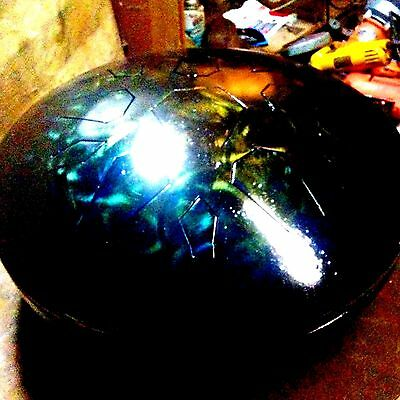 Fast Ship -handmade handpan - easy2play. anyone can get the hang of Lotus Drum