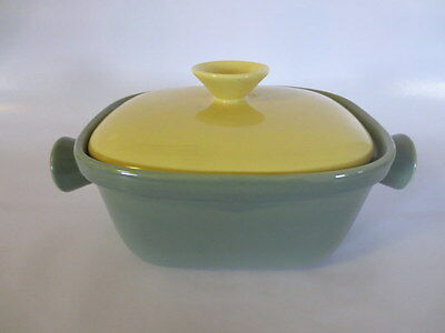 Retro Vintage Casserole Dish With Lid Diana Pottery Mid Century  Australian