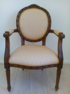 French Provincial Style Louis Chair