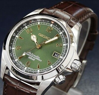 SEIKO MECHANICAL Alpinist SARB017 Automatic Wrist Watch for Men from Japan New