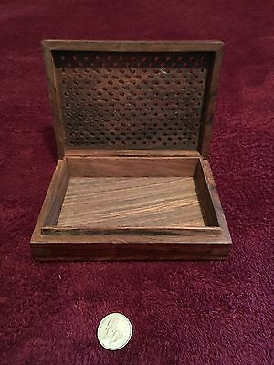 Wood Box, Business Card Holder, Decoration, Gift
