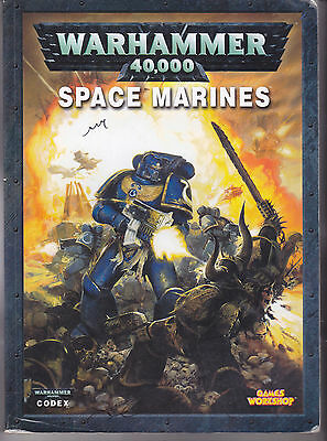 Warhammer 40,000 Space Marines Codex - Games Workshop