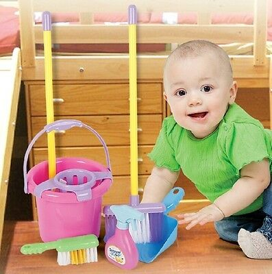 Kids Home Cleaning Pretend Play Educational Toy Sets