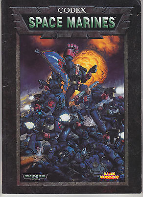 Warhammer 40,000 Space Marines Codex Games Workshop