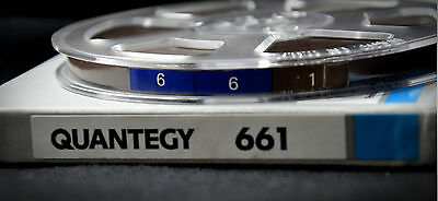"""QUANTEGY 661 (Ampex) 1/4"""" x 1800' - 5"""" magnetic tape  (factory sealed)"""