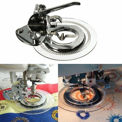 Flower Stitcher Attachment Foot Shank For Brother Janome Singer Sewing Machine