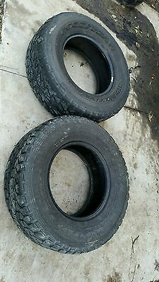 265x70r16 Goodyear Wrangler A/T Pair 2 of