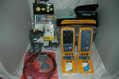Fluke DSX-5000Qi 1GHz DSX Series Cable Analyzer with OLTS Quad Fiber Inspection