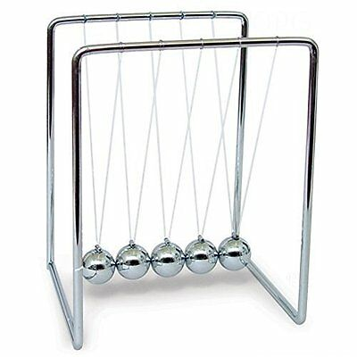 Home-X® Medium Newton's Cradle. 5.5 Inches Tall