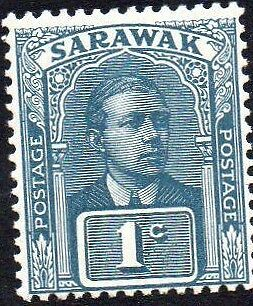 Sarawak SG62, prepared but not issued, 1c, MNH