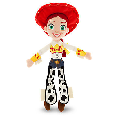 """Disney Store Authentic Toy Story Jessie Cowgirl Plush Toy Doll 11"""" Tall NWT"""