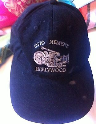 Vintage Otto Nemenz Hollywood Movie Cameraman Ball Cap Hat PreOwned