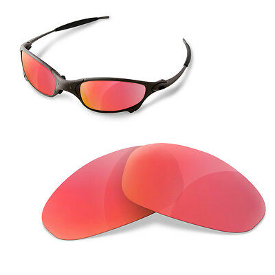 Polarized  Replacement Lenses for OAKLEY Juliet ruby red color
