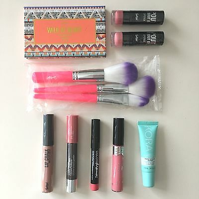 SPORTSGIRL, KORA, CIATÉ, COVERGIRL, MAYBELLINE Bulk Lot Makeup Products Lips New