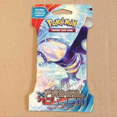 POKEMON TCG XY Primal Clash Blister x 1 Packet NEW trading card game 10 cards