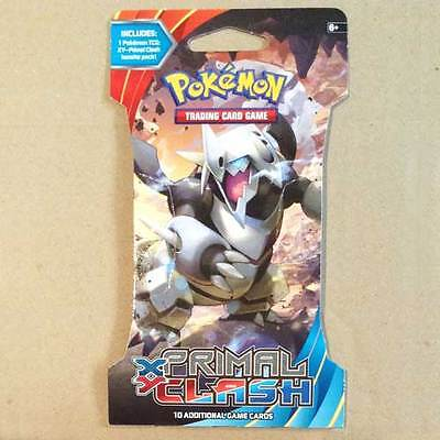 POKEMON TCG XY Primal Clash Blister x 1 Packet NEW * trading card game 10 cards