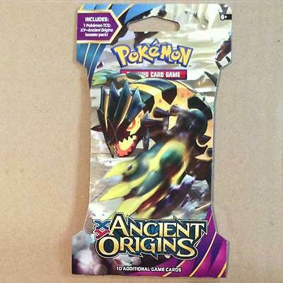POKEMON TCG XY Ancient Origins Blister x 1 Packet NEW trading card game 10 cards