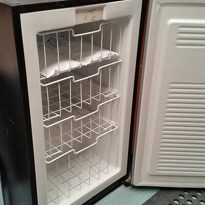 small upright freezer
