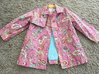Children girls pink little Joule clothing pink paisley Mac age 6 years