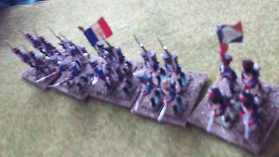 20 Napoleonic Vintage minifigs 25mm French foot
