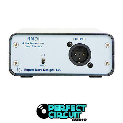 Rupert Neve Designs RNDI 48V Powered DI DIRECT BOX - DEMO - PERFECT CIRCUIT