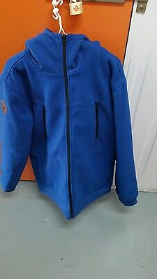 analog condition jacket mens large blue new