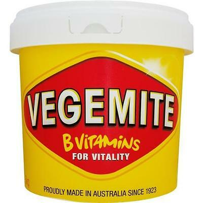 Vegemite 2.5kg Tub Jar By Kraft - Australian Made Vegan Kosher Halal Vitamin B