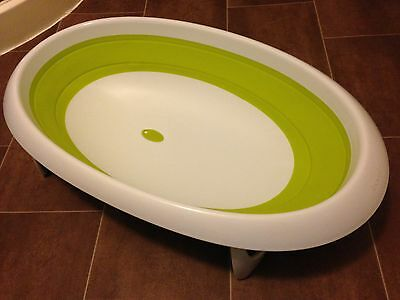 Boon Naked Collapsible Two Position Baby Bath Bathtub Green From Birth
