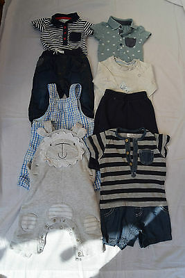 Baby Boys Bundle Inc Next Etc Age 3 / 6 Months - 8 Items  - B6