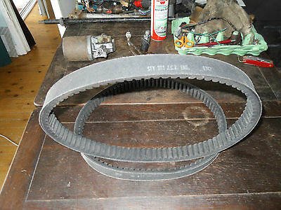 Pair NOS shop soiled Salisbury variomatic drive belts Type 70 Invalid Carraige