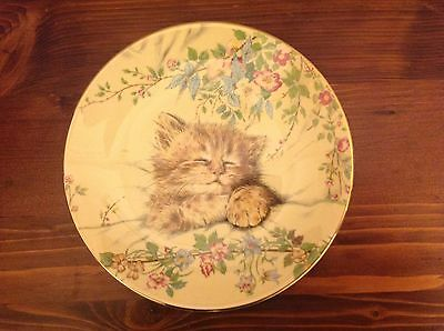First plate of the Hamilton Collection Kitten Classics Plates. Circa 1985
