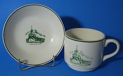 Blessing of the Biloxi Shrimp Fleet Cup and Bowl Vintage USA Made